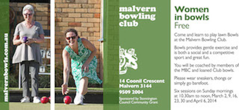 Women In Bowls at Malvern