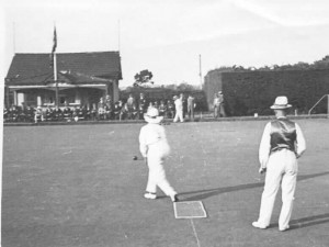 Malvern Bowling Club in action